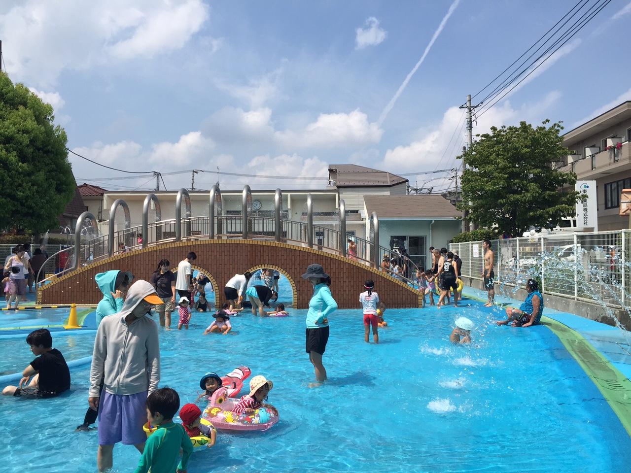 オムツ可のプールを東京で探す!美好水遊び広場
