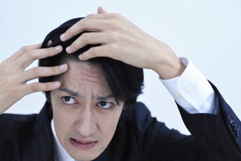 ストレスによる抜け毛